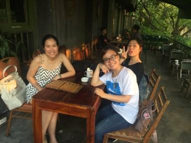 With the Hanoi Kids at CộngCà Phê