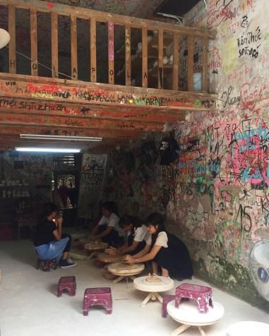 Pottery workshops at Bat Trang Ceramic Village