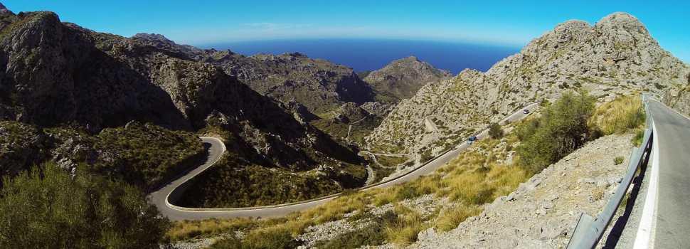 Test av 6 landeveis sykler på Mallorca.
