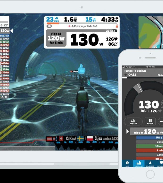 Gode apper for rulleøktene hjemme. Zwift vs Trainerroad vs Sufferfest.