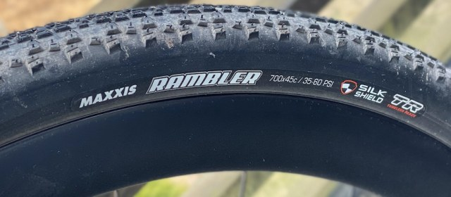 Test graveldekk: Maxxis Rambler 700×45 SilkShield TR