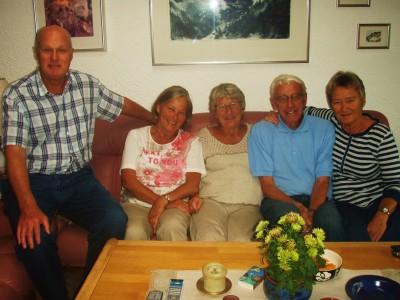Herman, Liv, Aud, Johan og Randi