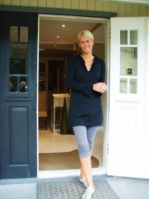 Sjefsengel Celine Thommesen har pusset opp Englegaard!