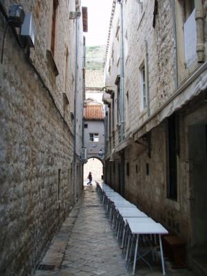 Det går mot slutten av turistsesongen i Dubrovnik!