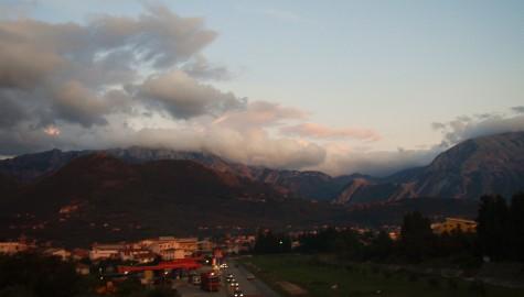 Høye sorte fjell i Montenegro!