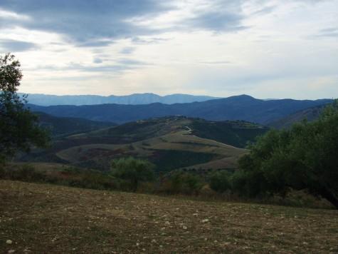 Det er svært kupert syd i Albania!