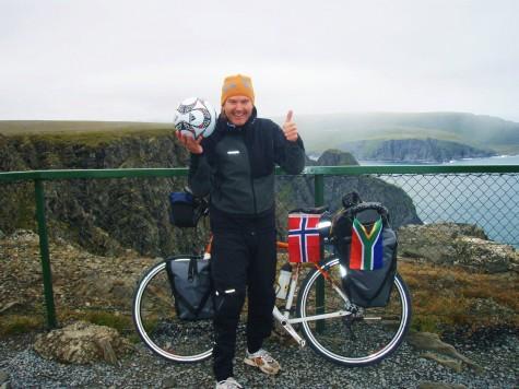 Klar for en liten sykkeltur på Nordkapp 15. august!