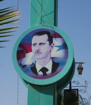 Bashar al-Assad henger over alt i Syria! Burde tatt  barten!