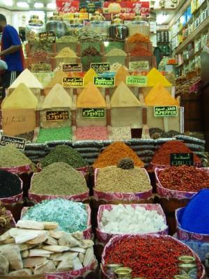 Mye krydder paa salg i Egypt!