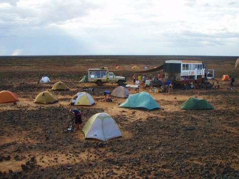 Lava Rock camping nord i Kenya!
