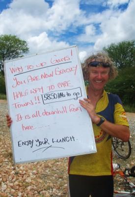 Halvveis til Cape Town – og kun 5850 km. igjen!