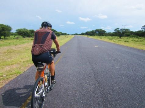 Ferdig med 150 mil i ubebodde områder i Botswana og Namibia!