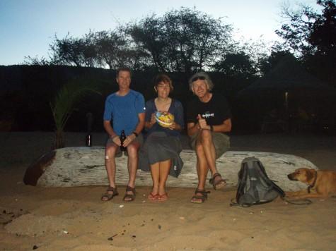 Helstekt gris og påskeegg på beachen på Skjærtorsdag!
