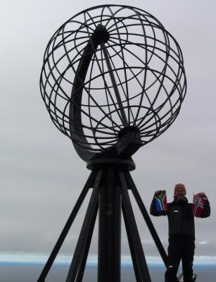 Føler det er en evighet siden jeg sto her ved starten på Nordkapp!