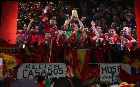 Og dette har Spania ventet på siden 1934! I -30 var de ikke med! Gratulerer!