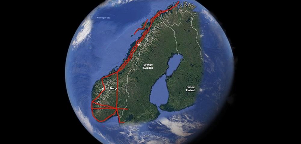 Sykkelturer i Norge