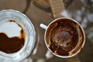 Толкование символов на кофейной гуще — что означает дракон? Гадание на кофейной гуще