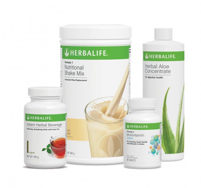 Herbalife Schlankheitsprodukte Bewertungen