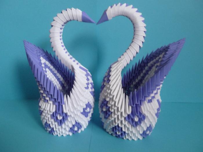 Origami Swan Instructions   Origami cygne, Origami simple ...   525x700