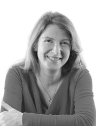 Marianne Holmes - Author Photo (B&W)