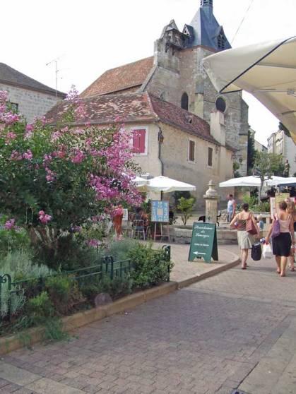 Beautiful side street, Bergerac, France.