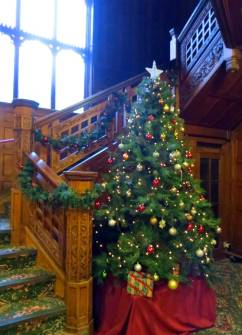 Christmas at Bletchley Park.