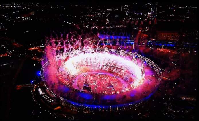 In 2012 the London Olympics Opening Ceremony.