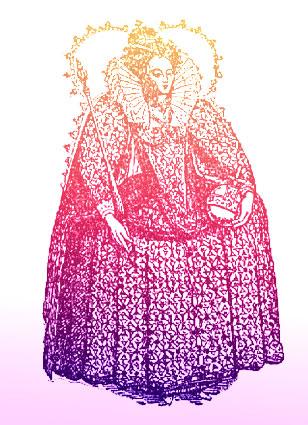 Elizabeth I was born in 1533