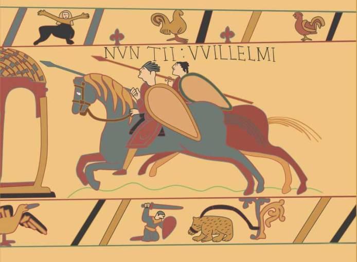 William the Conqueror invaded England 1066.
