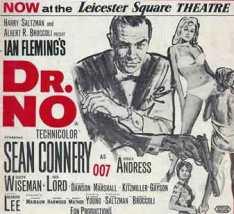 1962 London premier of Dr No.