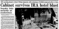 1984 Brighton bomb.
