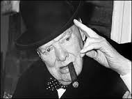 1962 Sir Winston Churchill celebrated his 80th birthday.