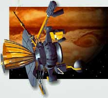 Galileo arrived at Jupiter in 1995.