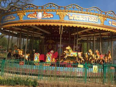 In 1620 the world's first merry-go-round appeared at a Bulgarian fair