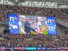 In 2014 we went to the new Wembley Stadium for a play-off final.