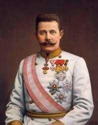 The assassination of Archduke Franz Ferdinand in 1914.