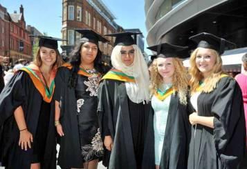 Graduation in 2013.