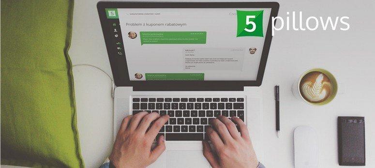 5pillows. Tworząc markę 5pillows.com poszukiwaliśmy przede wszystkim nazwy, która będzie ciekawa, unikalna i zgodna z naszymi wartościami. Branża narzędzi do obsługi klientów uwielbia wykorzystywać słowo