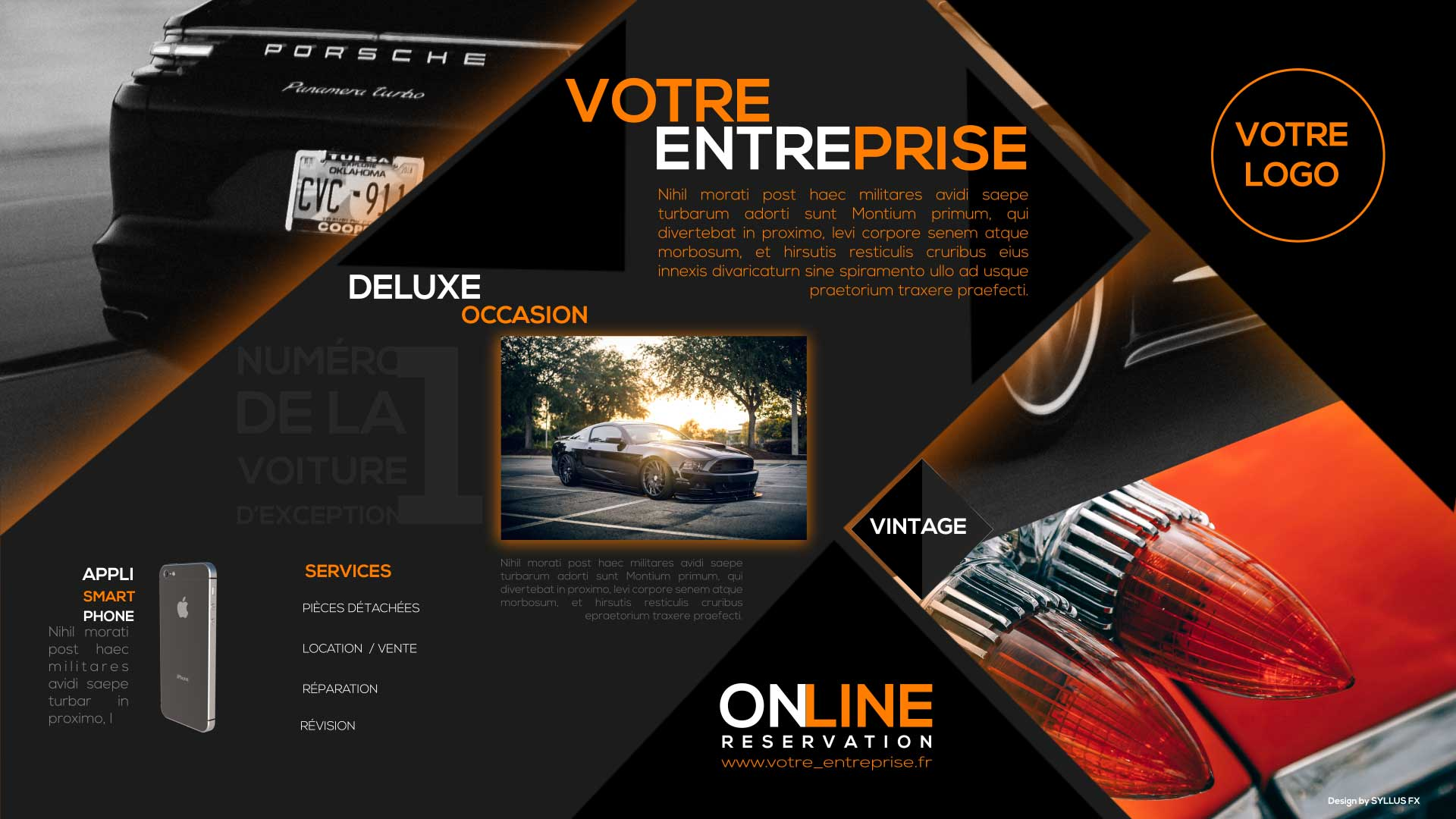 image Template Deluxe occasion paysage 004F