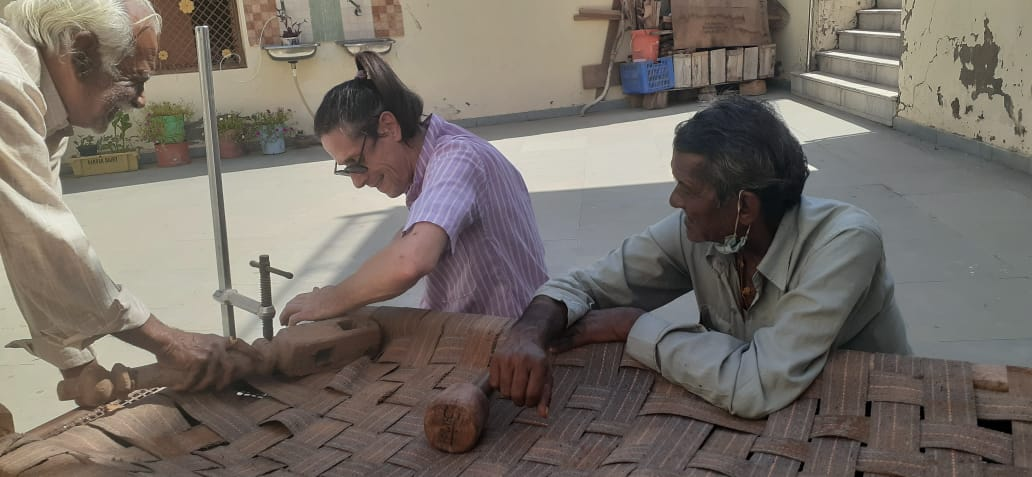 WOODWORK IN FOUNDATION BY ANANDA