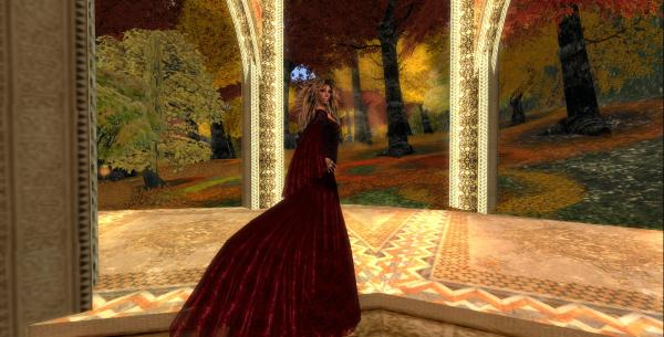 Sierra Red & Black Lace Gown Syl' Fashion Boutique Art