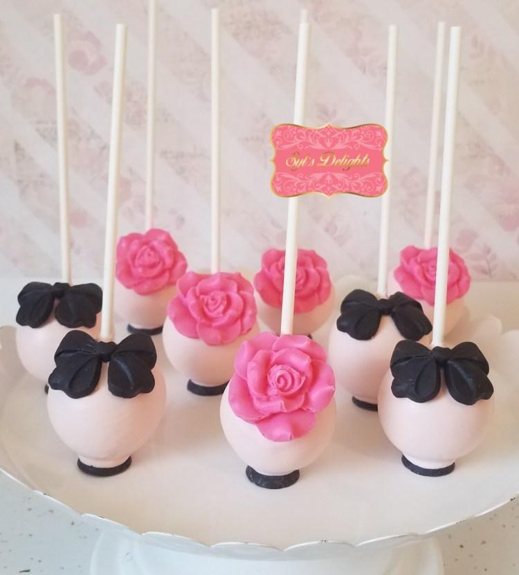Kate spade inspired cakepops