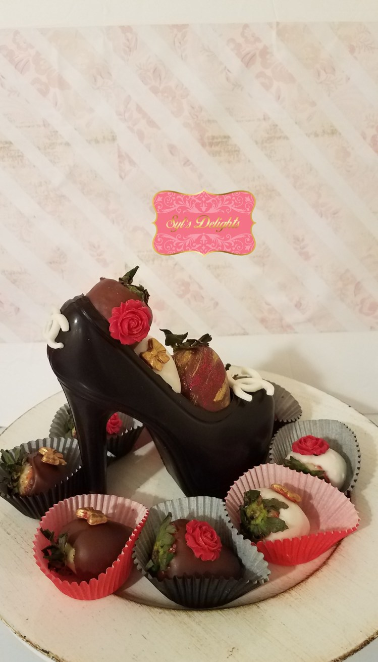 Valentine Stiletto and Strawberries