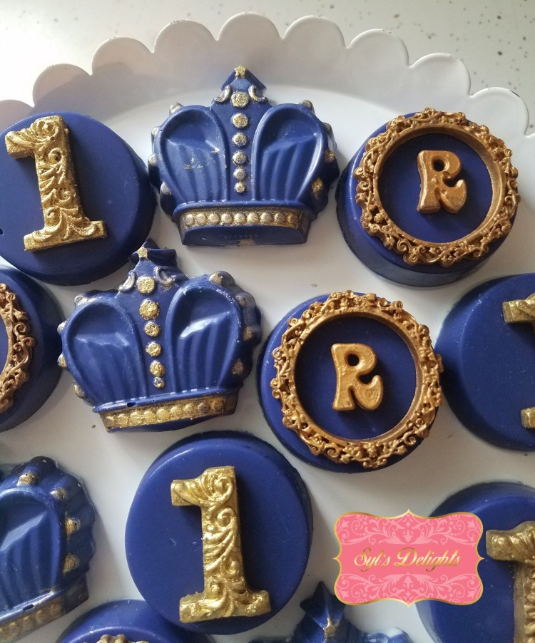 Royal crown Choc. Oreo's