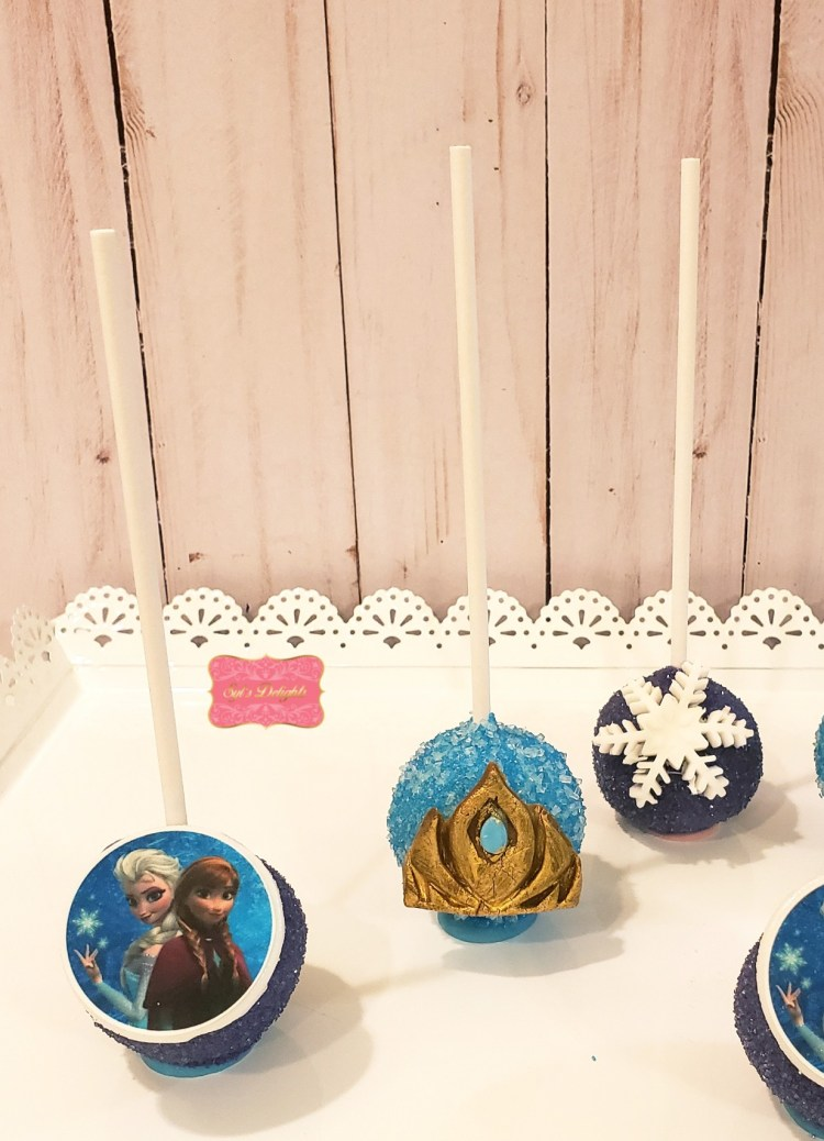 Frozen Cakepops