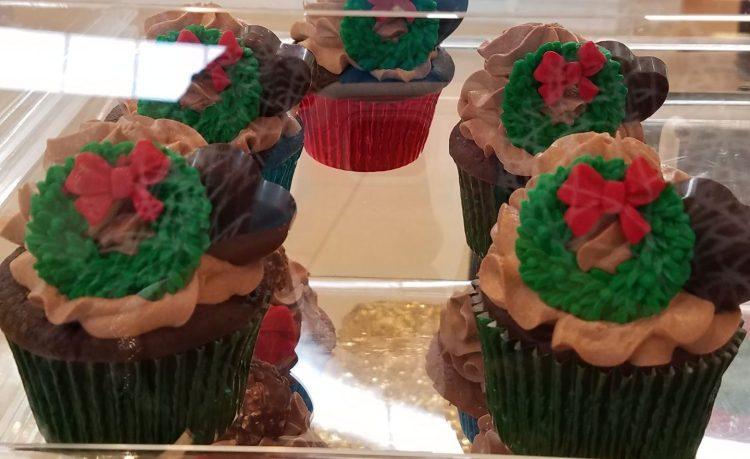 Godiva's dark choc. cupcake