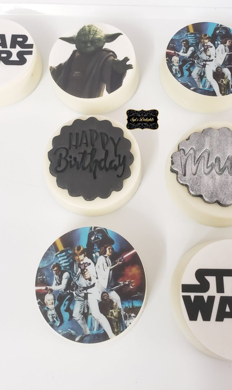 Starwars Oreo cookies
