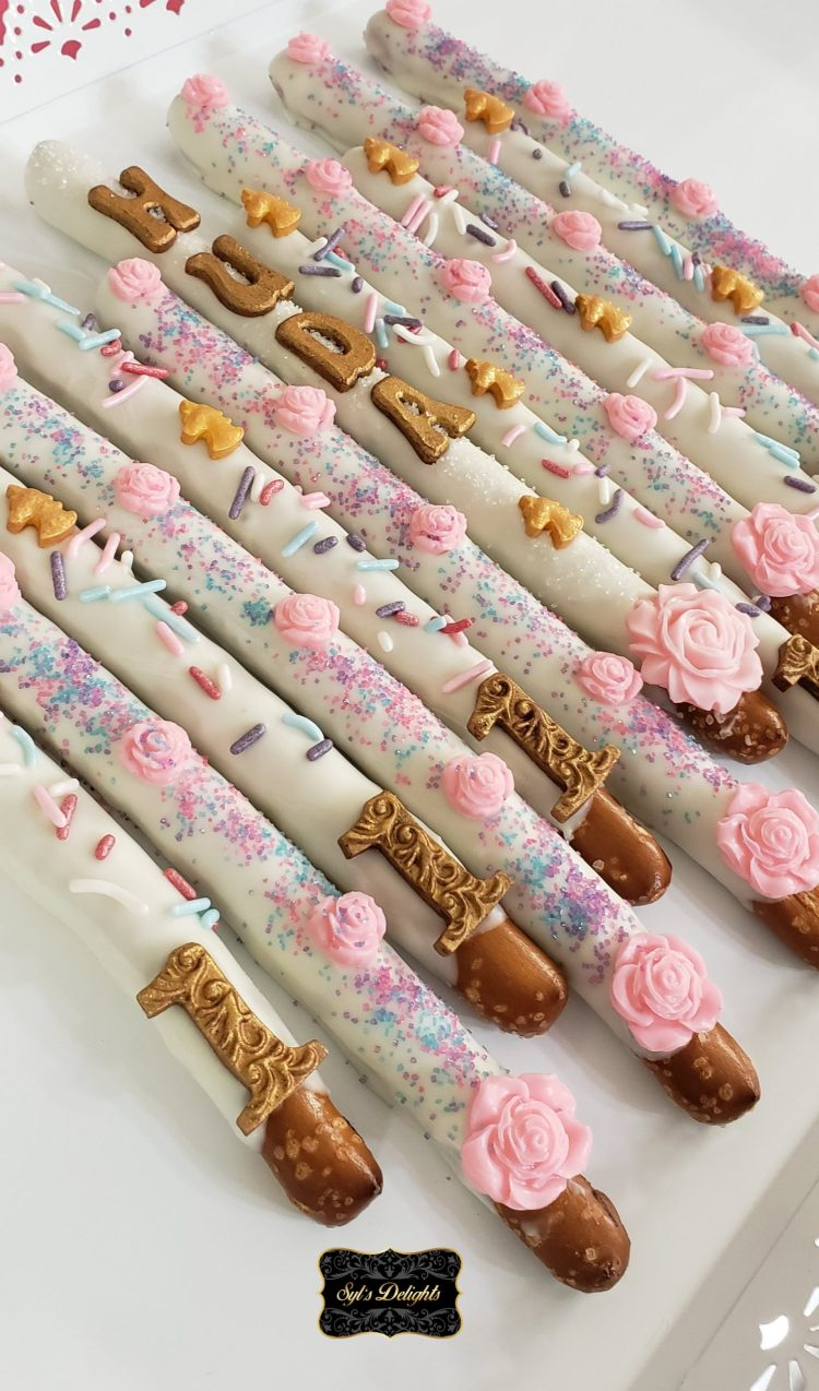 Unicorn Pretzel sticks