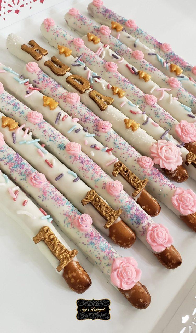 Unicorn Pretzel sticks