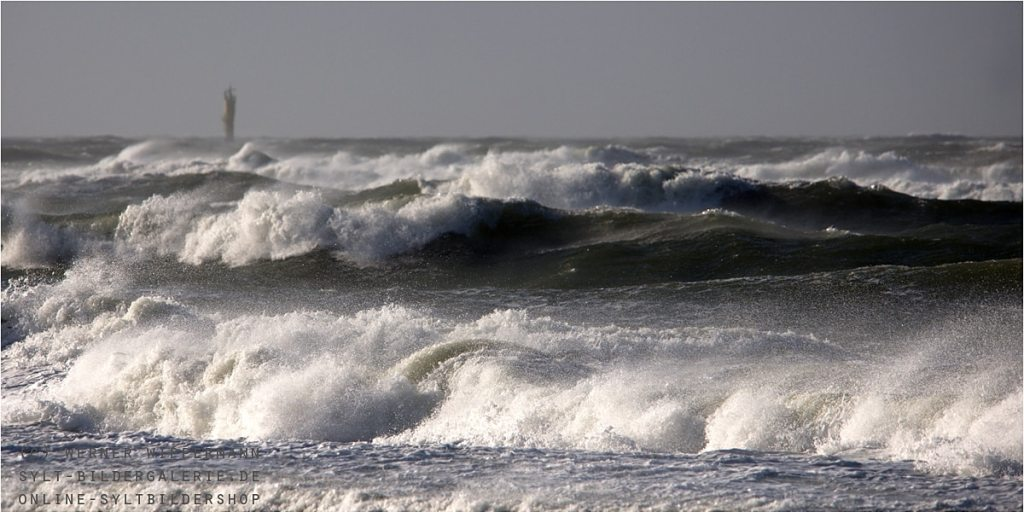Sturm Orkan Christian Sylt Wellen